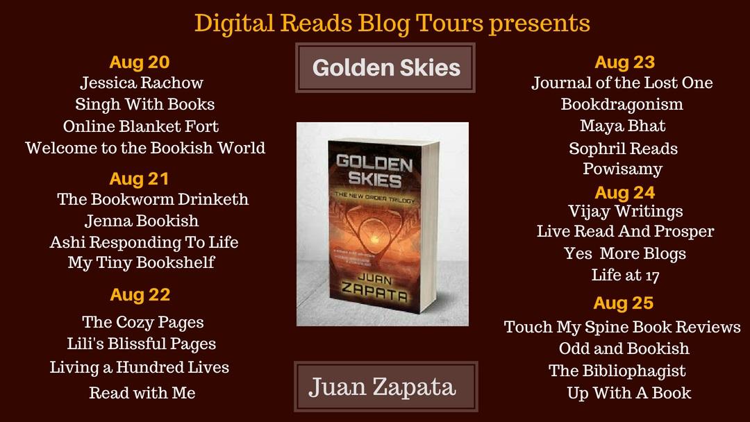 Blog Tour: Golden Skies – Juan Zapata