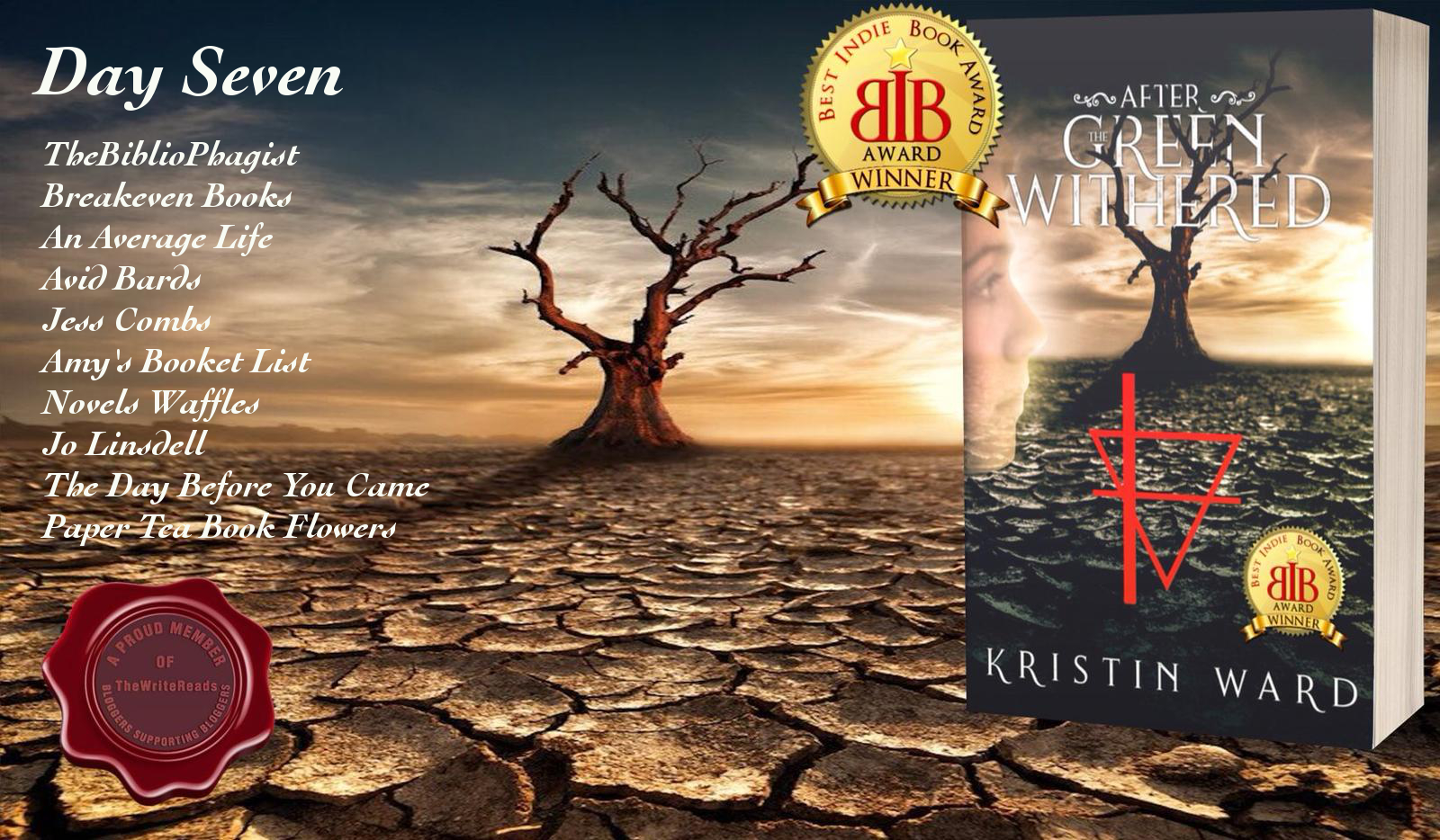 Blog Tour: After the Green Withered – Kristin Ward